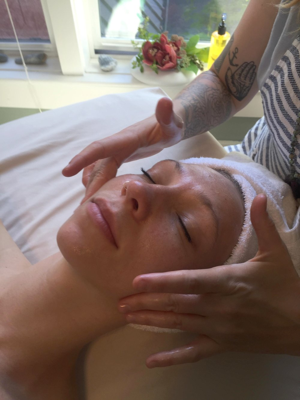 Luxurious facials at Portland Healing Space