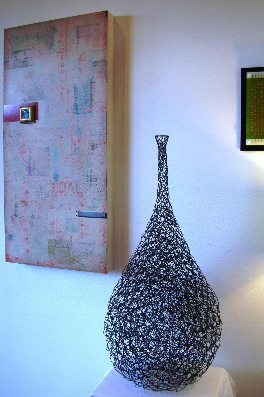 Tie Wire Vase