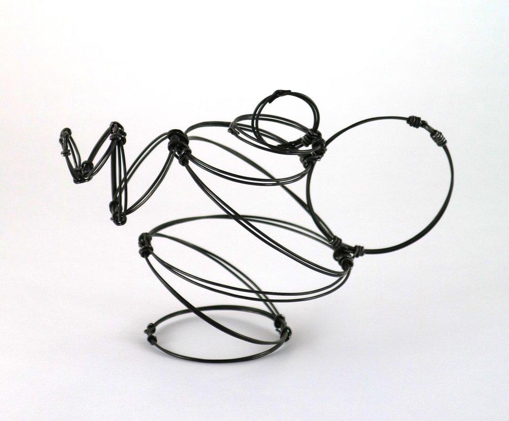 Wire Circle Teapot