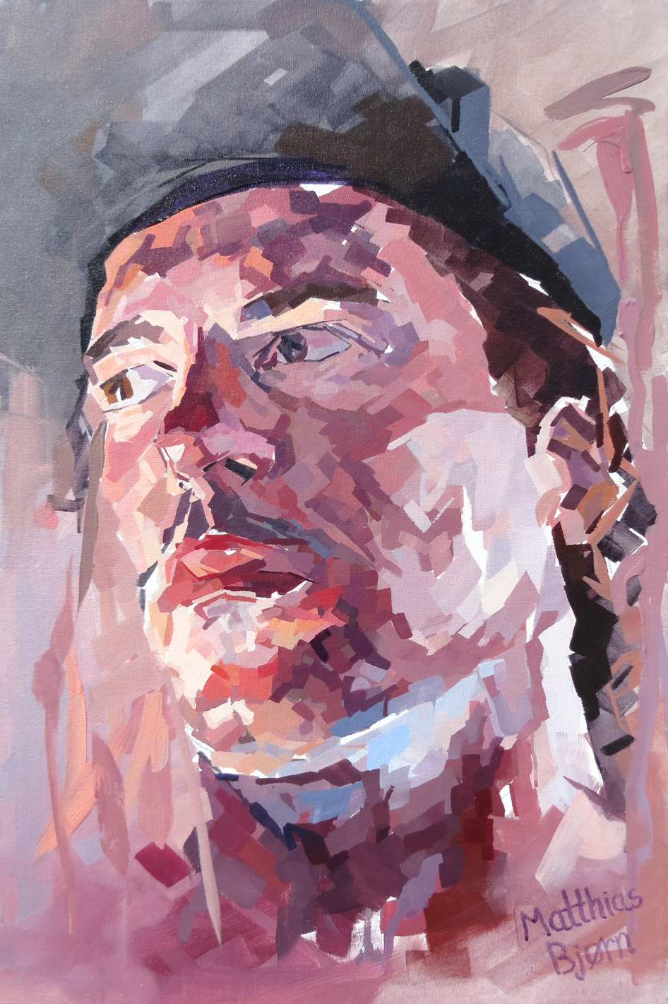 Self Portrait 24x36