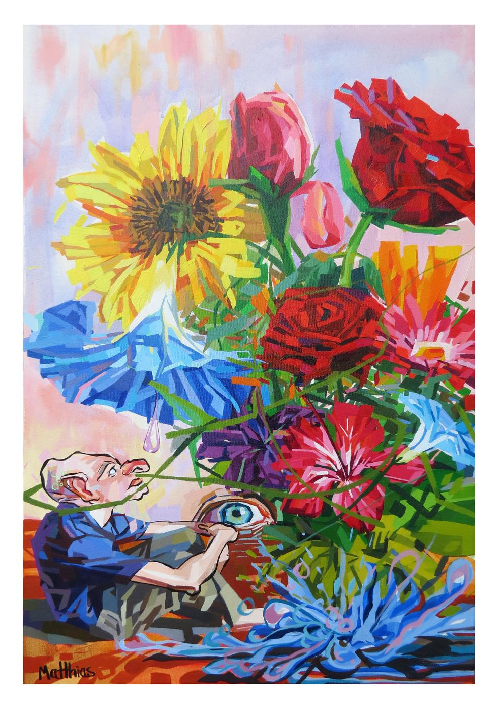Flower Dude 24x36