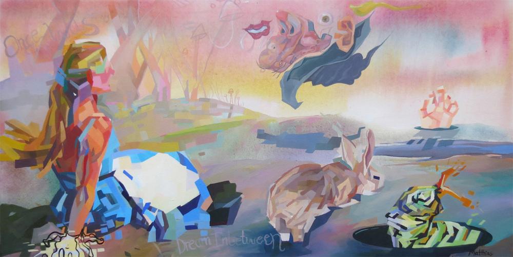 Alice in Wonder 24x48