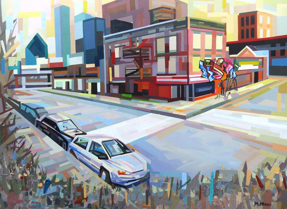 Urban Landscape 1 36x48 Sold