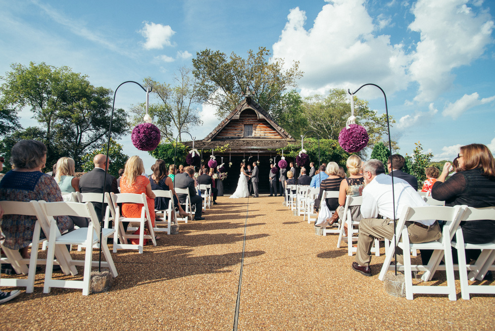 Wide Angle Ceremony