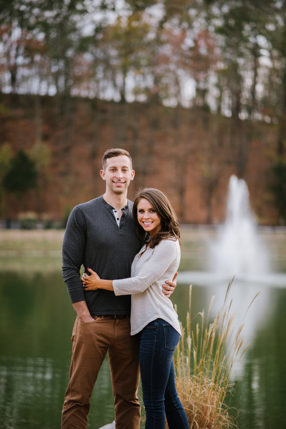 Engagement Session at Graystone Quarry