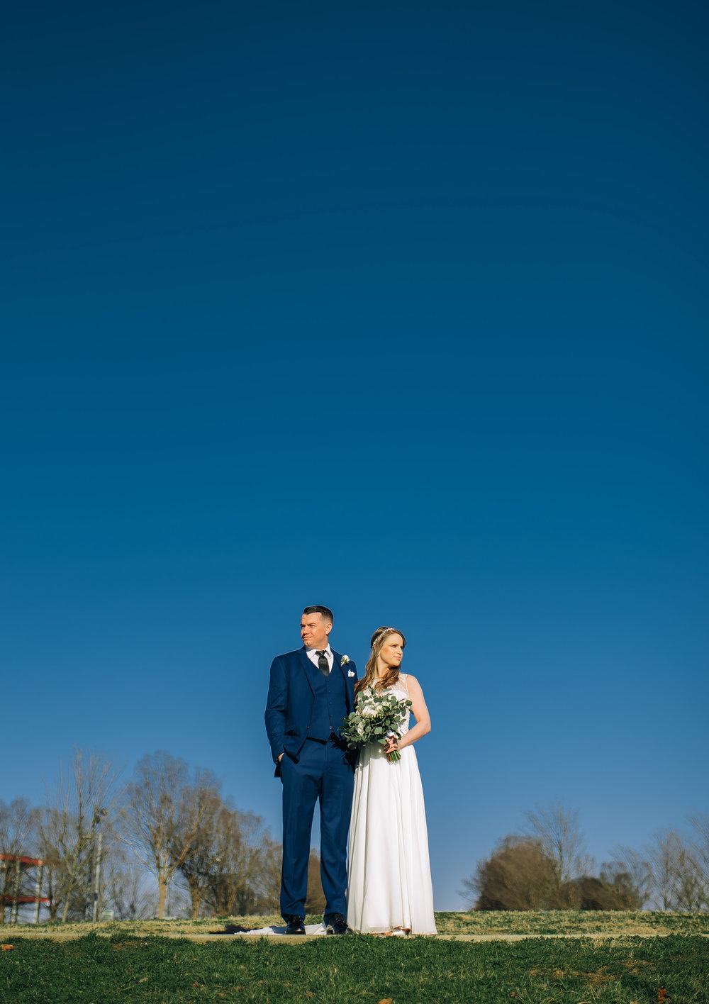 Danielle + Jordan - Bridge Building - Nashville Wedding Photography