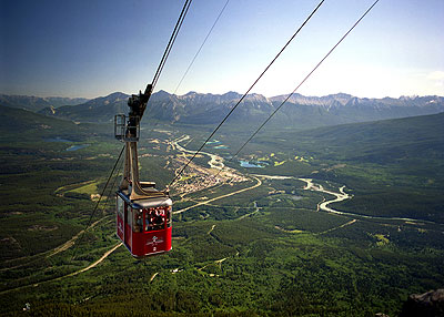 Jasper Tramway: Photo by Tourism Jasper