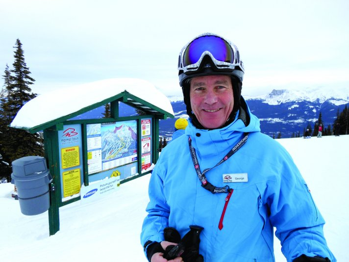 George Andrew - Proprietor - Astoria Hotel, Instructor - Marmot Basin