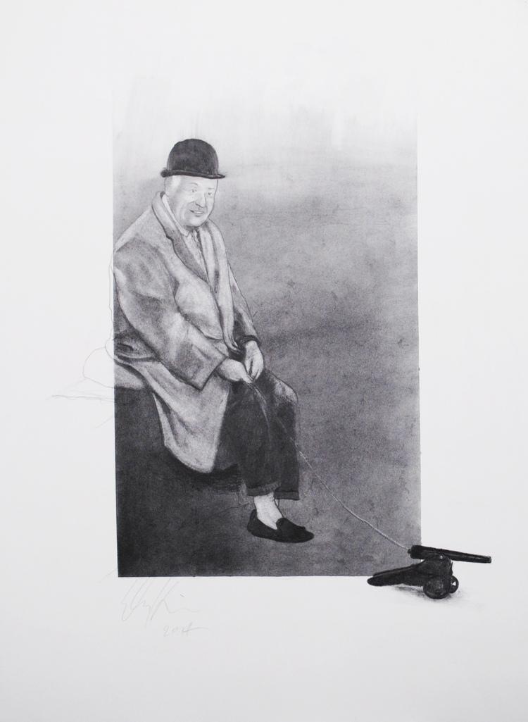 Roman Nose  Graphite on Paper, 20 x 30  2014