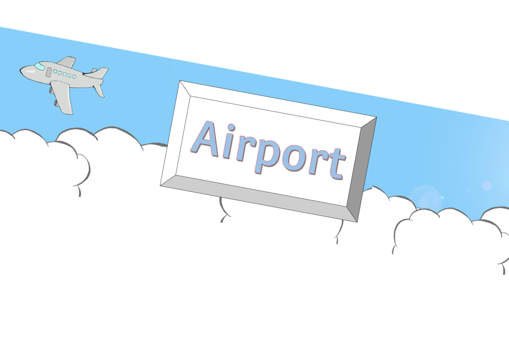 Airport Role-Play Area Banner
