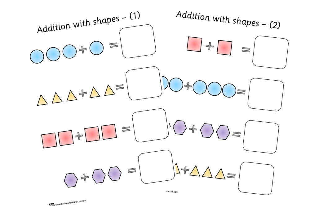 SHAPE ADDITION