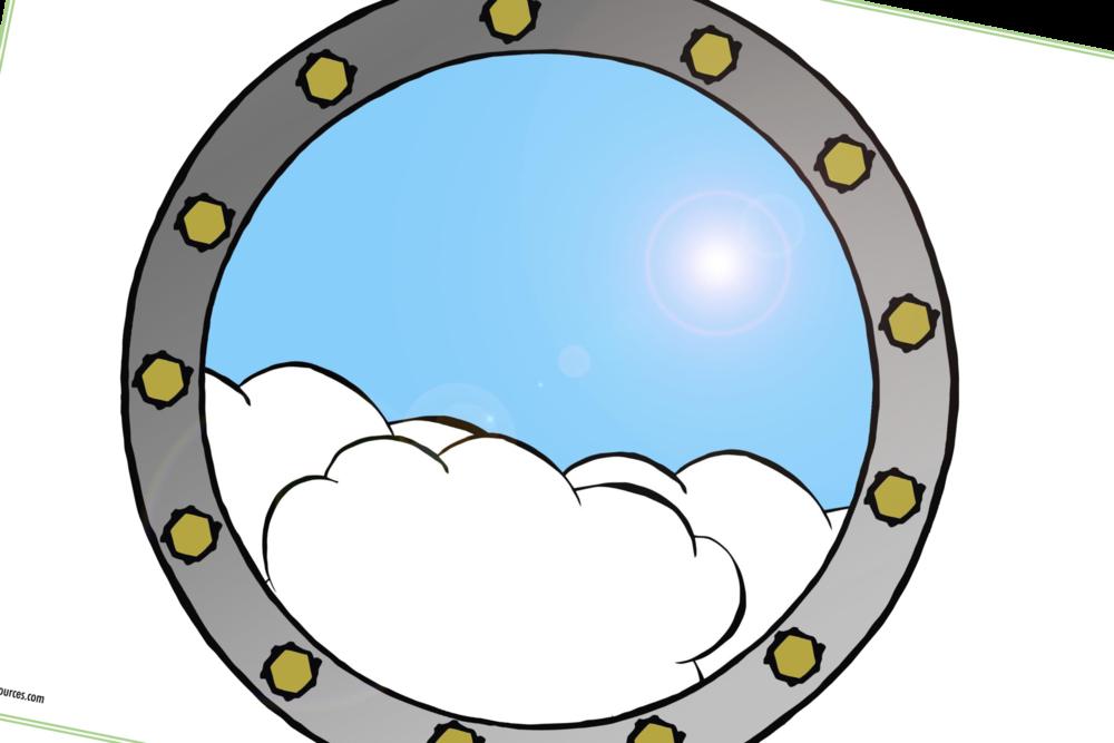 AEROPLANE WINDOW