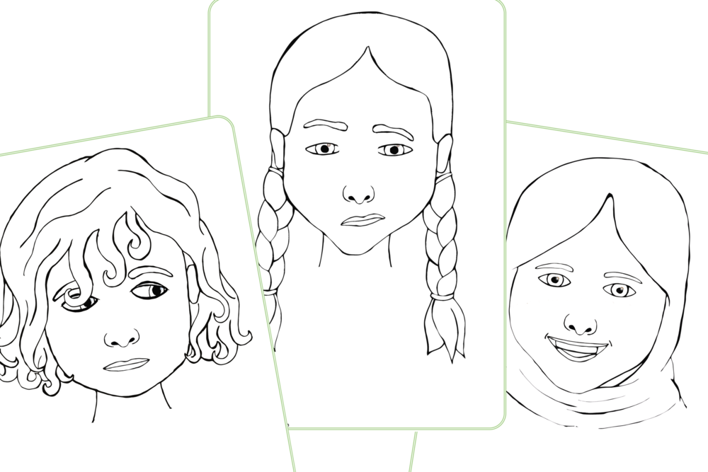 Emotions/Feelings/All About Me Colouring Pages/Activity