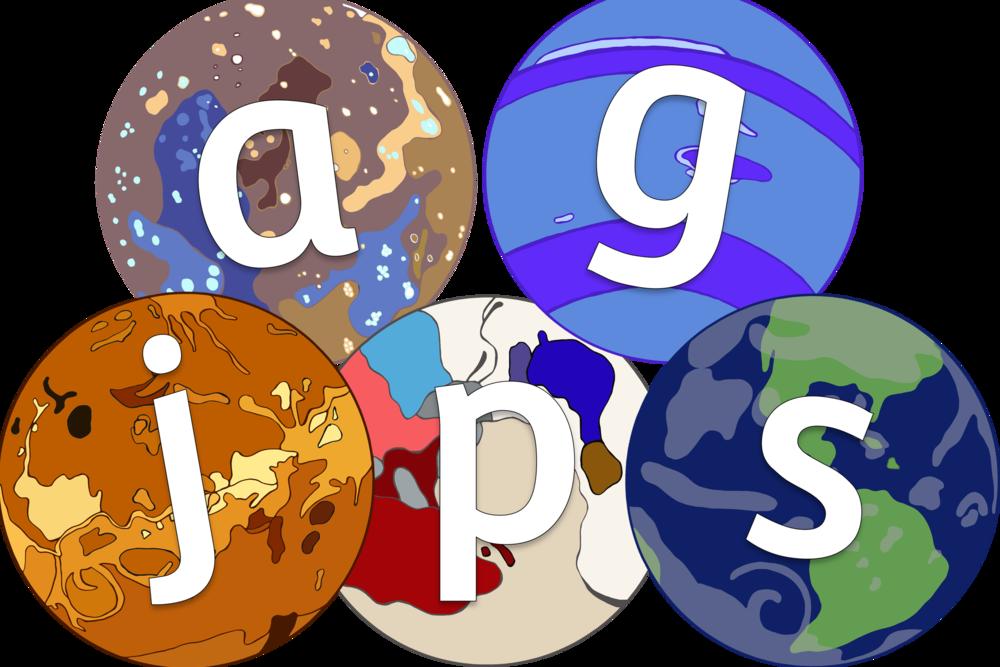 Planets Alphabet