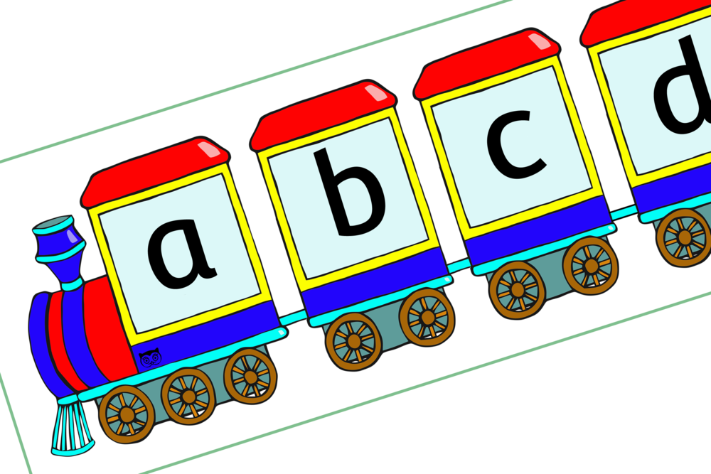 Steam Train Alphabet