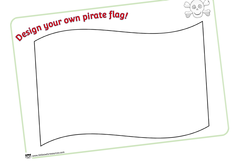DESIGN A PIRATE FLAG