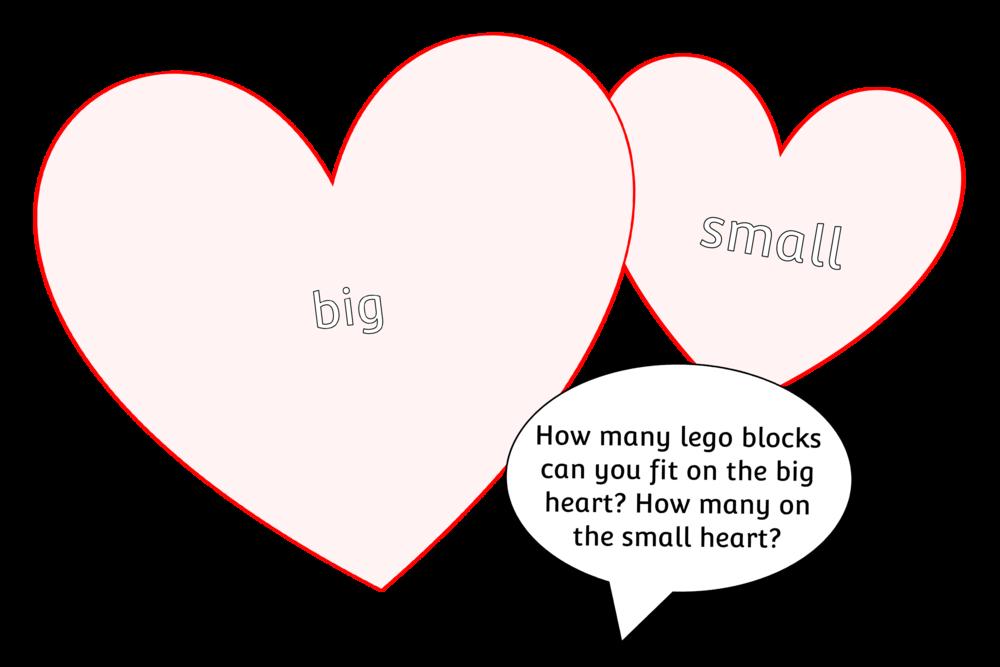 'BIG' VS 'SMALL' LOOSE PARTS INVESTIGATION HEARTS