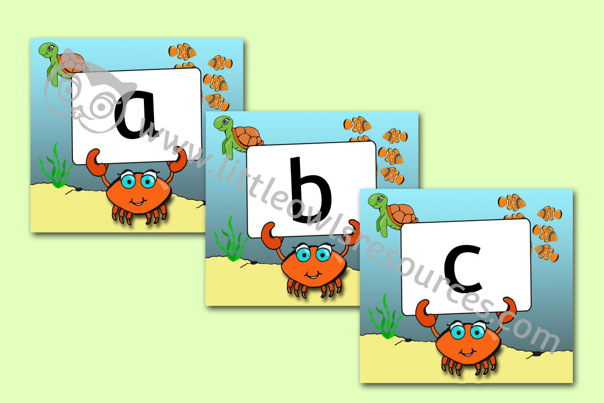 20+ Alphabet Cartoon