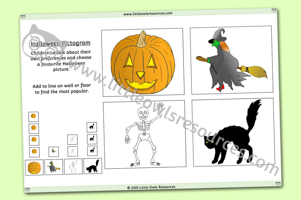Halloween Pictogram
