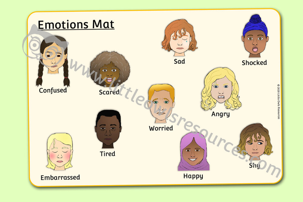 Emotions Mat