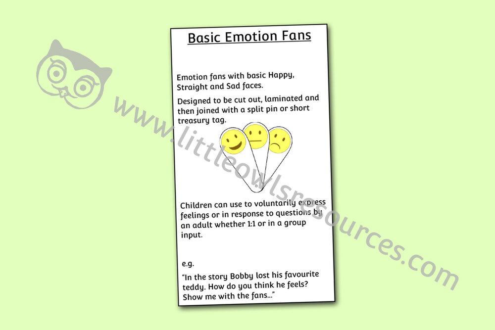 Basic Emotion Fans