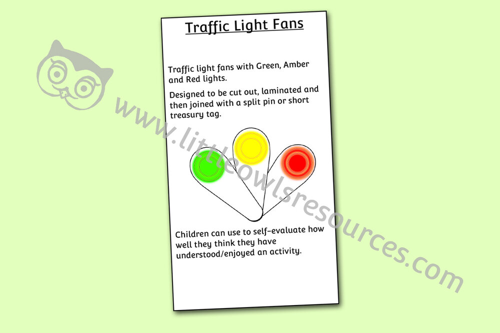 Traffic Light Fans