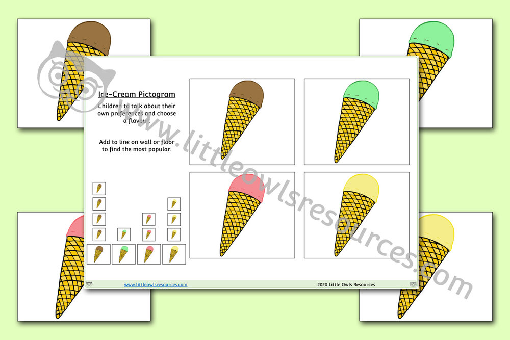 Ice-Cream Pictogram
