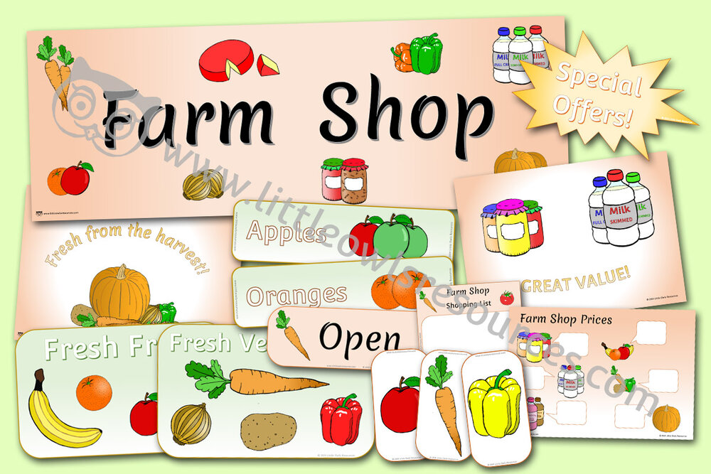 Farm Shop Role-Play Pack