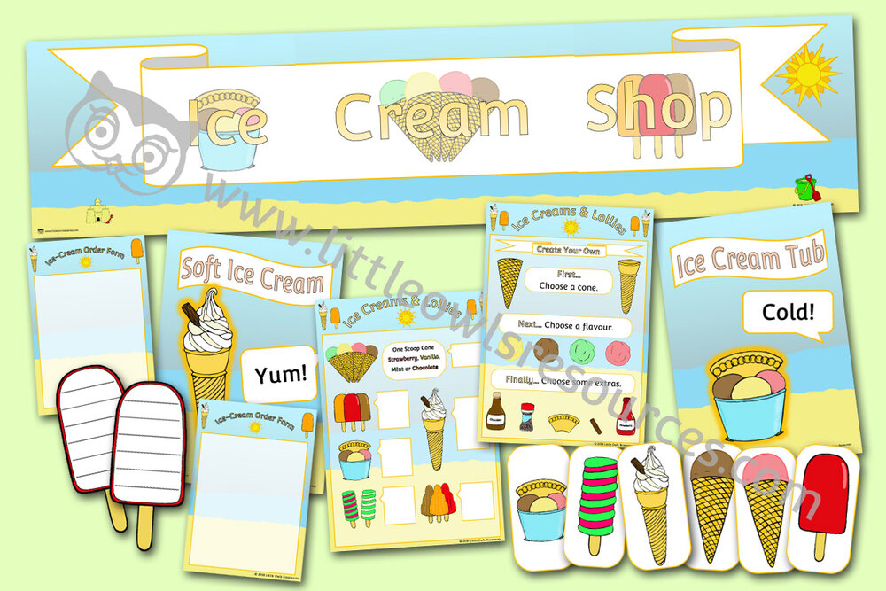 Ice Cream Shop Role-Play Pack