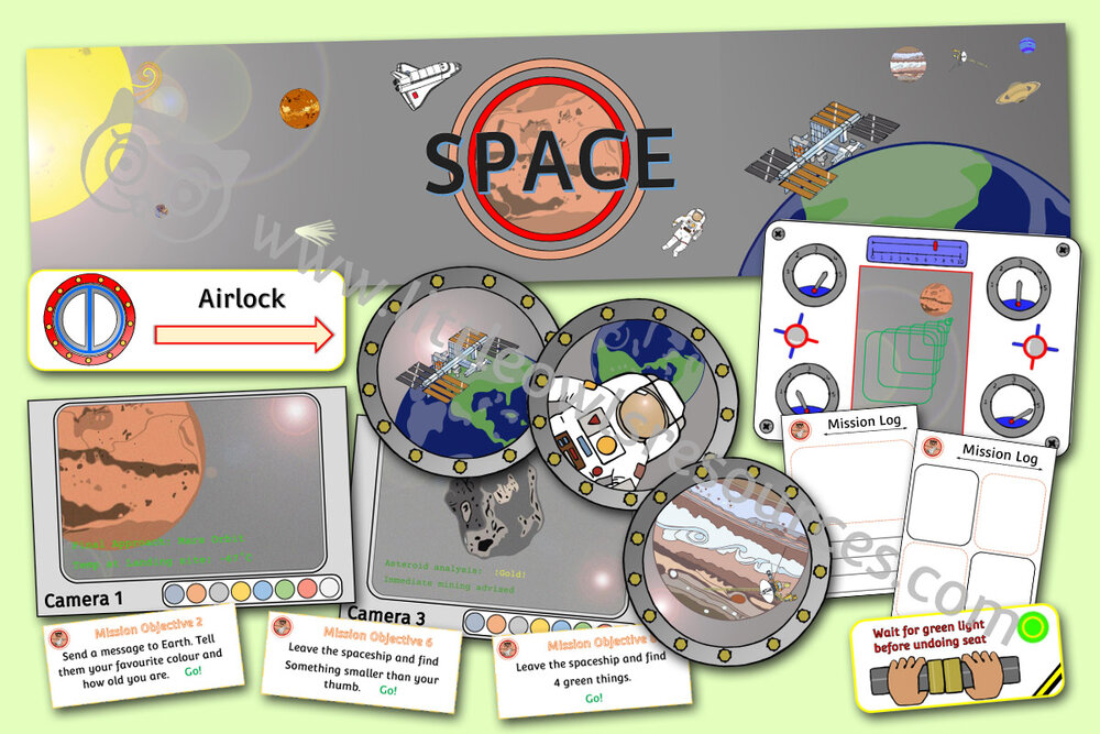 Space Role-Play Pack