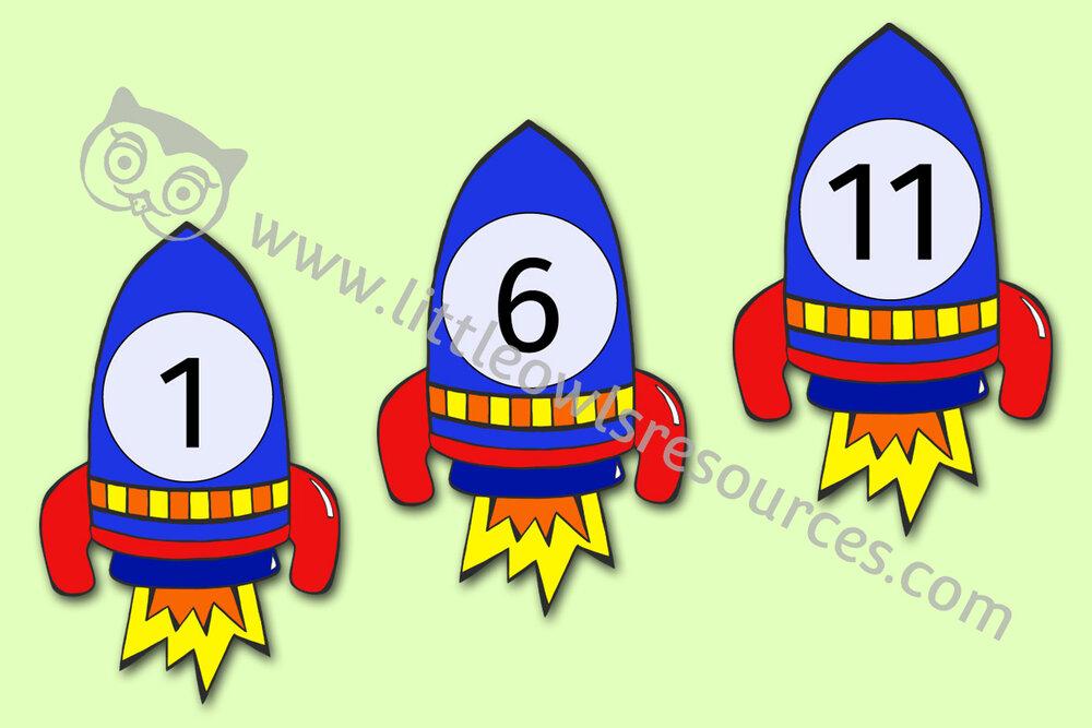 Rocket Numbers