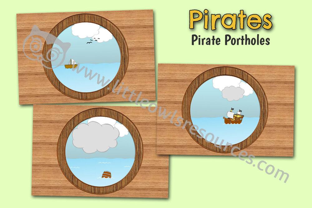 Pirate Ship Portholes