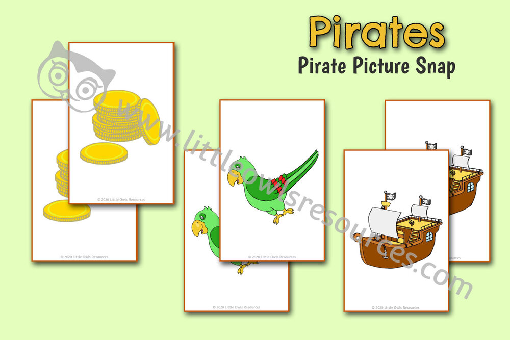 Pirate Picture Snap