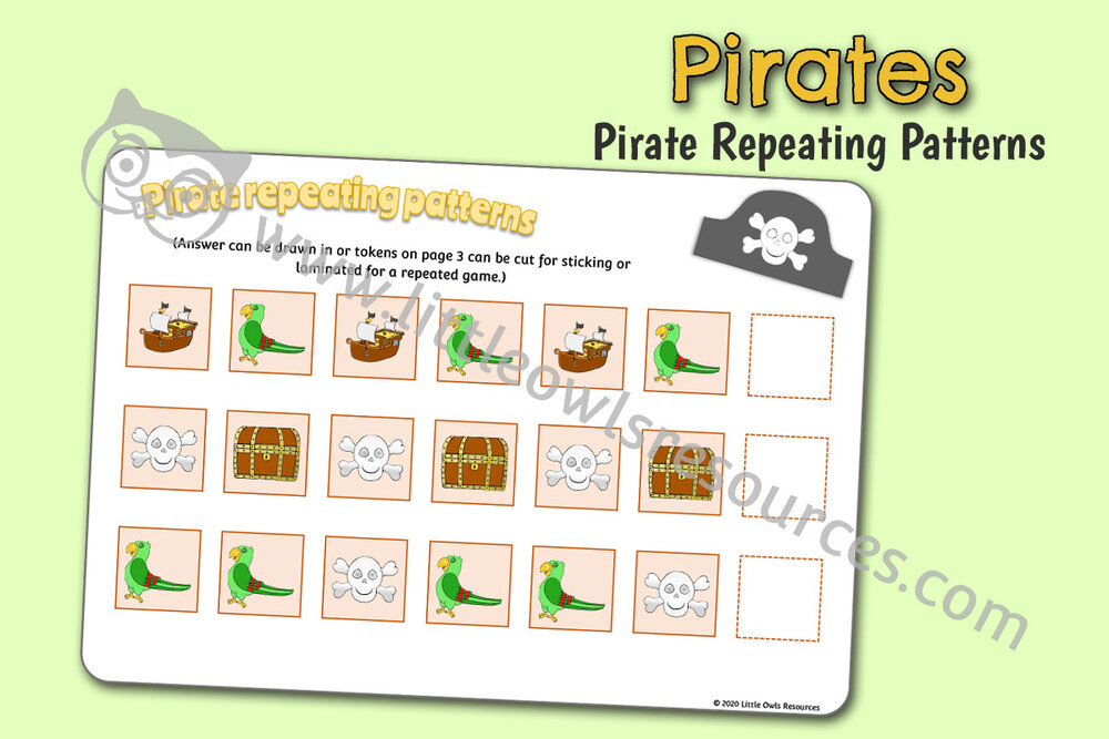 Pirate Repeating Patterns