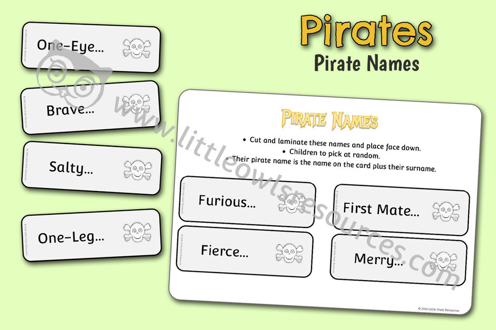 Pirate Names