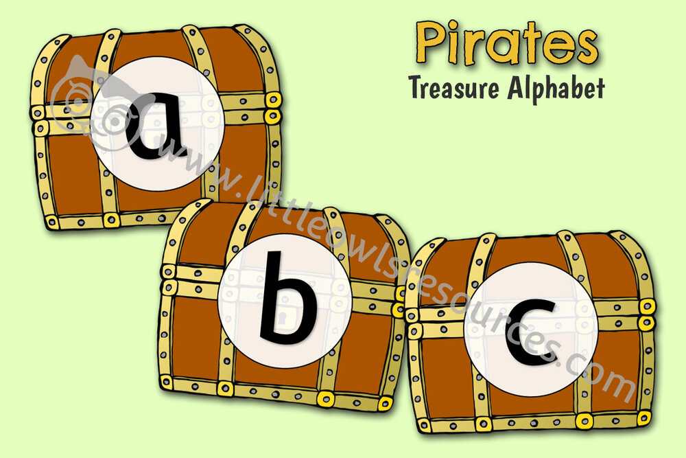 Treasure Chest Alphabet