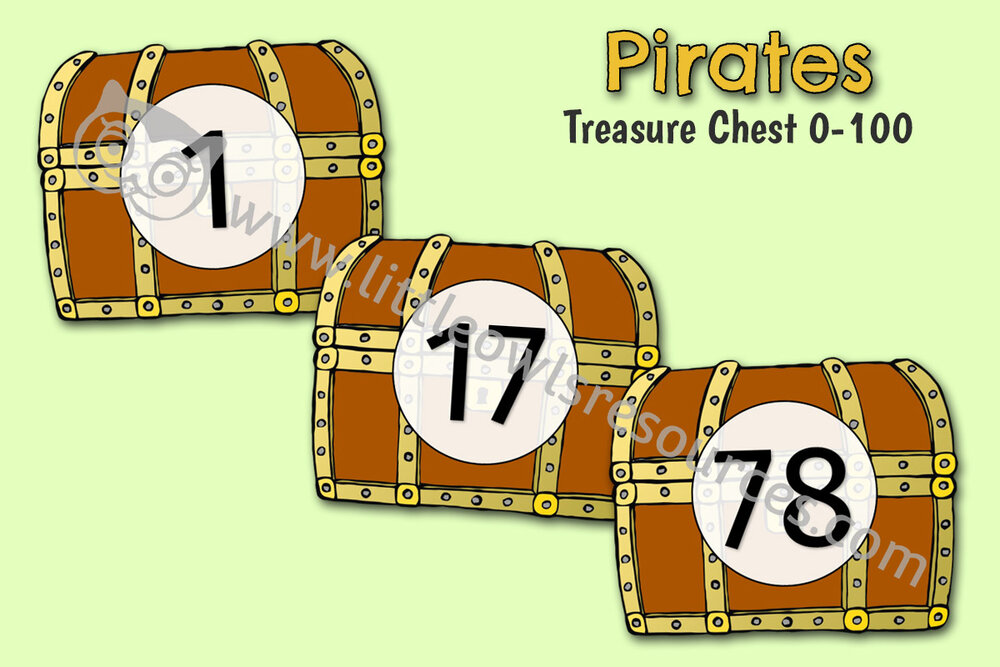 Treasure Chest 0-100