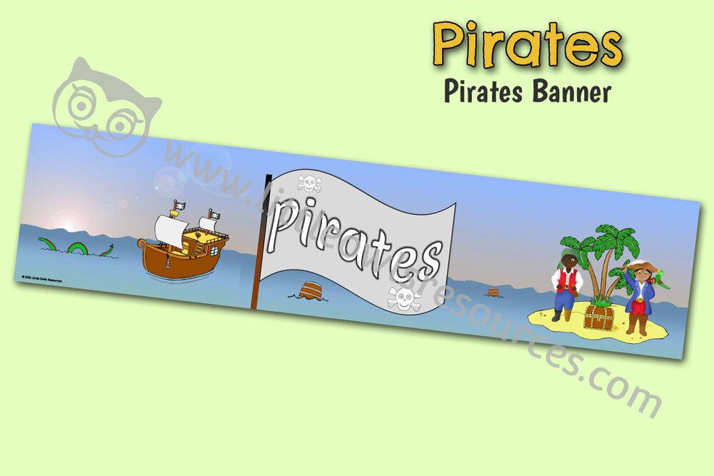 'Pirates' Banner