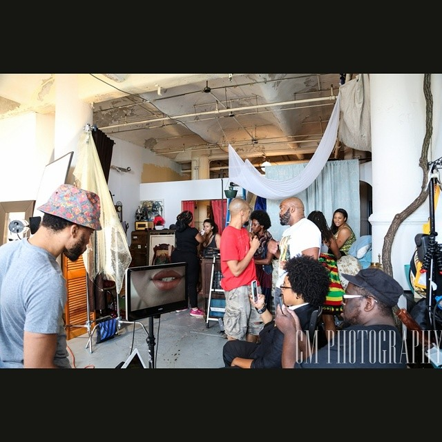 Creating with my team. Hands the visual... SOON COME!!!! @bmoreexposed @boomscatmusic @patiencesings @christinmua @note2selfinc @frecksamillion @trishharper_ @itisthelove #music #musicvideo #dope #dreams #actions #baltimore #bmcc #video