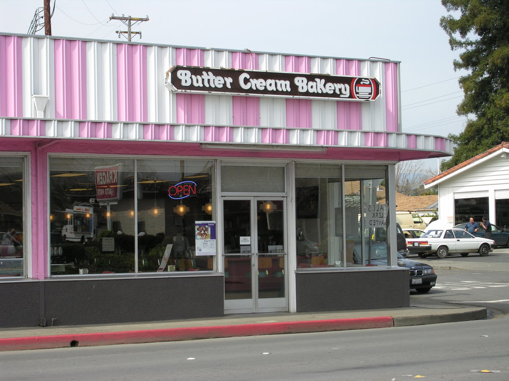 Butter Cream Bakery & Diner.  Napa, California.