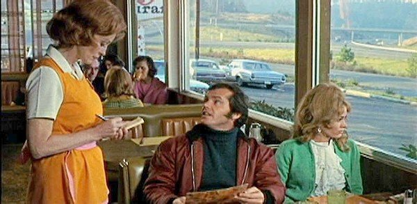 "Scene from ""Five Easy Pieces"""
