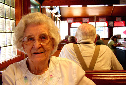 Ina Kapitan - Miss Florence Diner.  Florence, MA