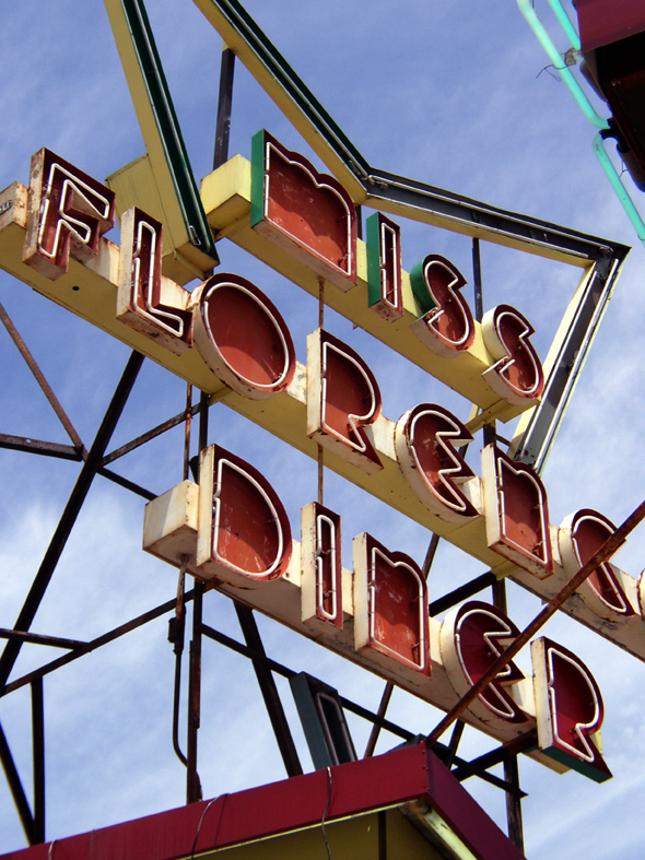 Miss Florence Diner.  Florence, MA