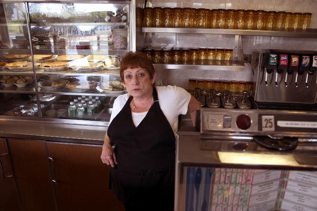 Joyce Widmann -  Crystal Diner  . Lawrenceville, New Jersey