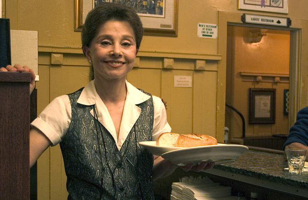 Paula Hazzouri - Buena Vista Cafe.  San Francisco, California
