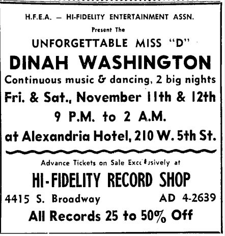 Dinah Washington - 1960