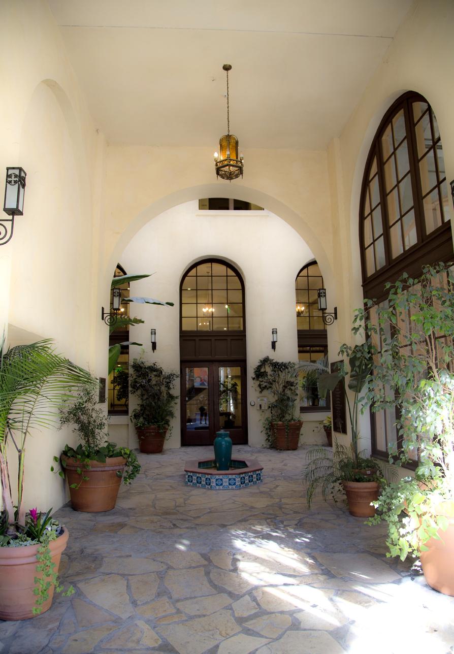 Dunbar Courtyard Entry - 2016