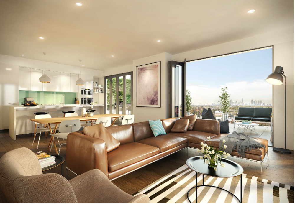 New Apartments in Oakleigh with City views