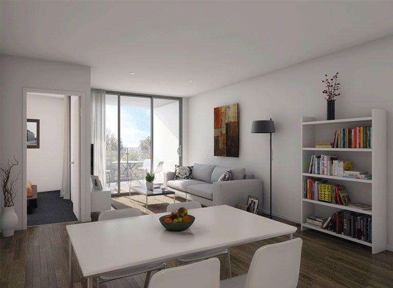 Interior of Boronia Apartments