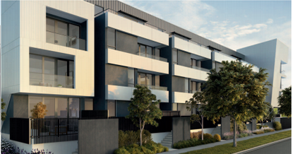 Footscray Apartments Artist Impression